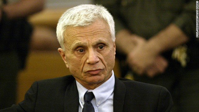 Former TV star <a href='http://www.cnn.com/2005/LAW/03/17/ctv.blake/index.html'>Robert Blake</a> reacts in a Los Angeles courtroom in 2005 after hearing the announcement of his acquittal. Blake faced murder charges in the death of his wife, Bonny Lee Bakley.