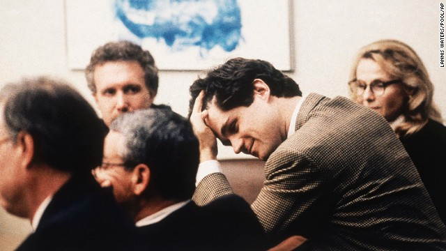 <a href='http://transcripts.cnn.com/TRANSCRIPTS/0012/11/mn.07.html'>William Kennedy Smith</a> expresses relief after his 1991 acquittal on sexual assault and battery charges. A woman had accused Smith, a nephew of then-Sen. Edward Kennedy, of attacking her at the family's estate in Palm Beach, Florida.
