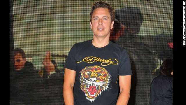 "<a href='https://www.youtube.com/watch?v=WMncnFQkZ5w' target='_blank'>John Barrowman appeared</a> on BBC's Chris Moyles show and performed a karaoke version of Katy Perry's ""I Kissed a Girl"" while wearing an Ed Hardy shirt, shorts and heels."