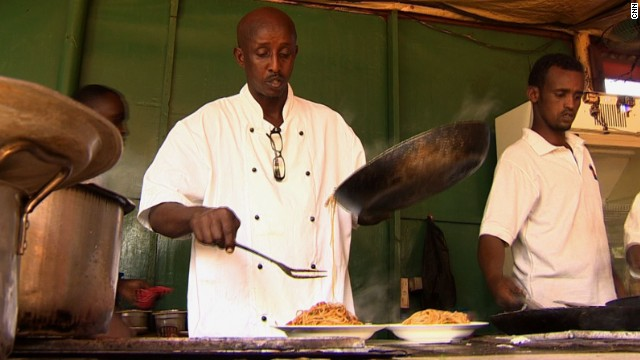 "Somali chef Ahmed Jama is the owner of ""The Village,"" a chain of five restaurants across Mogadishu. He is part of a growing number of Somalis who, after years abroad, are now returning to be part of their country's renaissance."