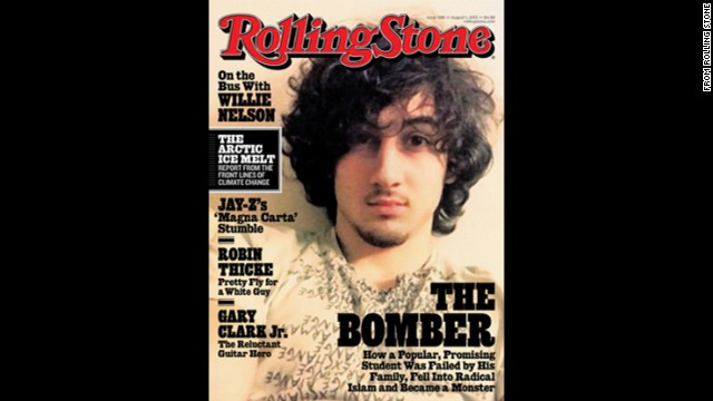 "Rolling Stone magazine made headlines because of the photo of Boston Marathon bombing suspect Dzhokhar Tsarnaev on the cover of its July 19, 2013, issue. Three people died and more than 170 were injured in the explosions. The photograph originally was posted by Tsarnaev online and had previously circulated around the Internet. Public backlash was almost immediate. Rolling Stone defended itself, saying the cover story reflected its commitment to ""serious and thoughtful coverage of the most important political and cultural issues of our day."""