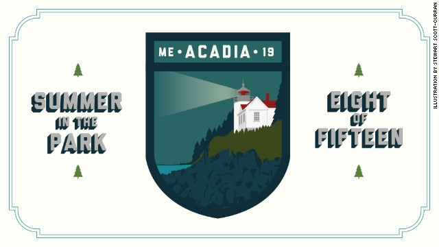 See why Acadia's beauty made it the first national park east of the Mississippi River. Stop by next week for <a href='http://www.nps.gov/thro/index.htm' target='_blank'>Theodore Roosevelt National Park</a>.