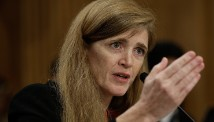Samantha Power, America\'s ambassador to the United Nations.
