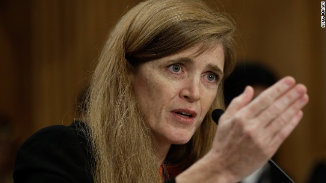Samantha Power is the next ambassador to the United Nations.