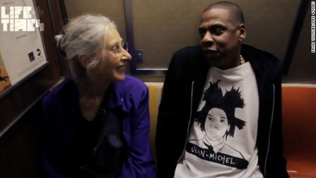 Jay-Z proved that he's not too famous for NYC's subway when he took the train to a performance at Brooklyn's Barclays Center in 2012. The artist chatted with another artist, Ellen Grossman, along the way.
