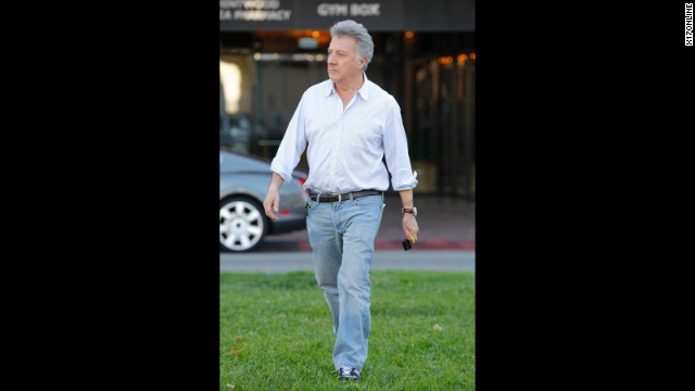 "Dustin Hoffman was taking a walk through London's Hyde Park last year when he came to the rescue of a jogger who was having heart trouble. <a href='http://marquee.blogs.cnn.com/2012/05/08/dustin-hoffman-saves-joggers-life/?iref=allsearch' target='_blank'>Hoffman worked quickly when he saw the 27-year-old man</a> ""staggering and frothing at the mouth"" before collapsing, according to the London Evening Standard. The actor called for help and made sure the man was on his back, staying with him until medical services arrived. "" border=""0″ height=""360″ id=""articleGalleryPhoto0013″ style=""margin:0 auto;display:none"" width=""640″/><cite style="