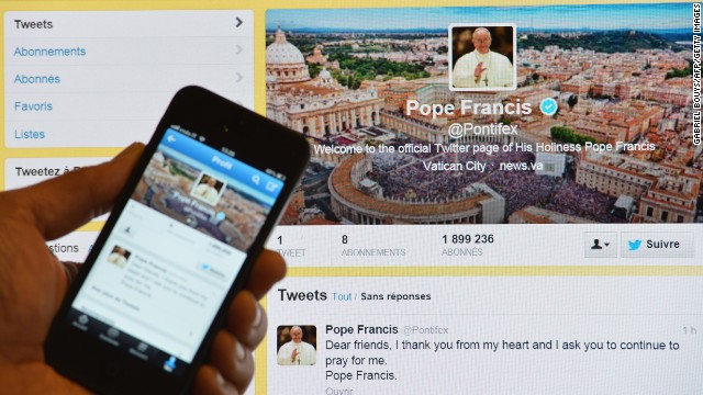 Sorry, retweeting the pope won't get you out of hell