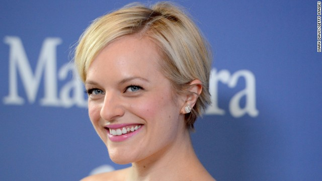 "Outstanding lead actress in a drama series: Elisabeth Moss, ""Mad Men"""