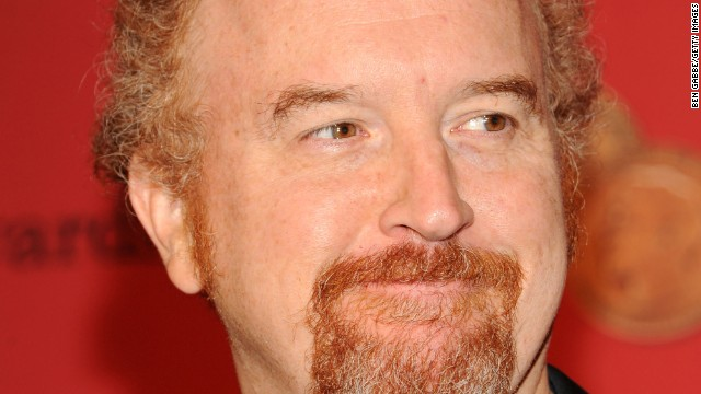 "Outstanding lead actor in a comedy series: Louis CK, ""Louie"""
