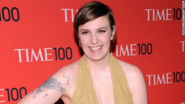 "Outstanding lead actress in a comedy series: Lena Dunham, ""Girls"""