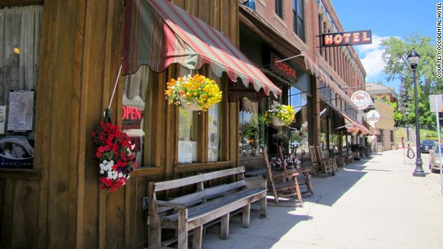 The Historic Occidental Hotel in Buffalo, Wyoming, is a restored relic of the Old West.