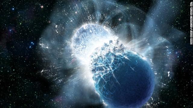 Todo el oro del planeta provino de la colisión de estrellas de neutrones