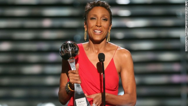 Watch Robin Roberts' touching speech at ESPYs