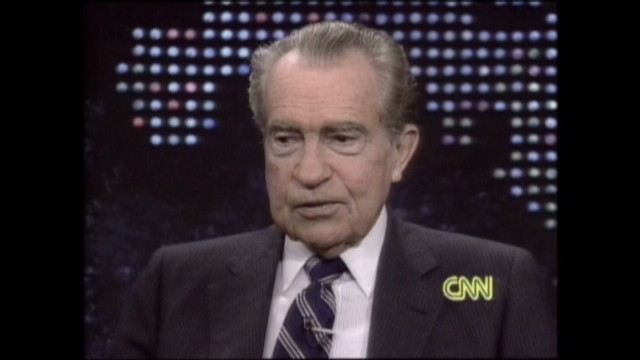 Nixon thought he was through with Watergate ... in 1973 ...