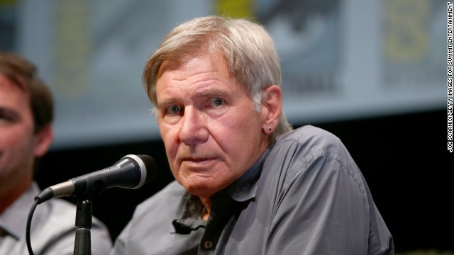 Actor Harrison Ford said he wasn't concerned about