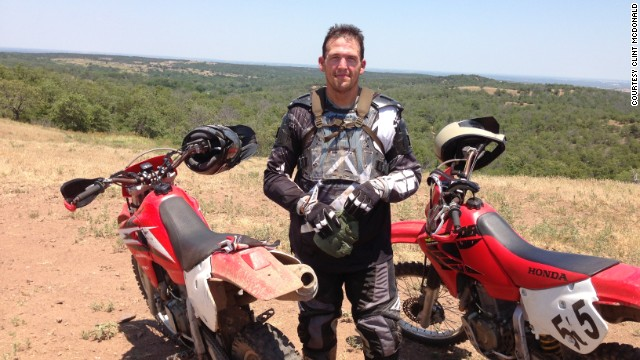 McDonald will fulfill a lifelong dream this November by racing a motorcycle in the Baja 1000.