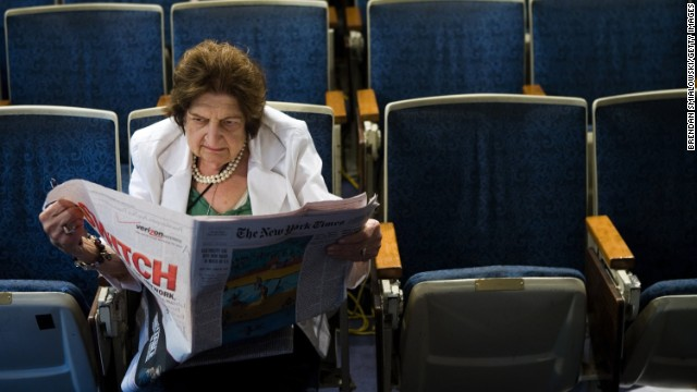 Pioneer journalist and former senior White House correspondent Helen Thomas died Saturday, July 20, after a long illness, sources told CNN. She was 92.
