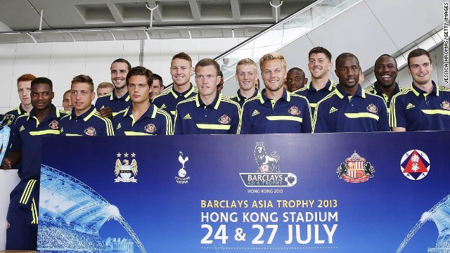 The biennial Barclays Asia Trophy is making a third visit to Hong Kong this week, with Manchester City, Tottenham Hotspur and Sunderland and South China taking part.