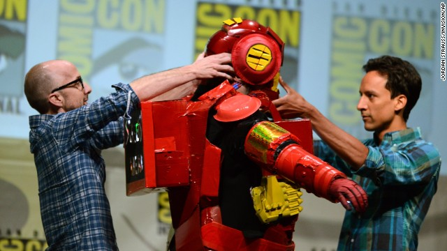 Photos: Celebrity appearances at Comic-Con 2013