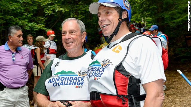 Cuomo, Bloomberg challenge each other to boost tourism