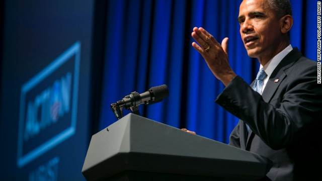 Obama offers preview of economic message in speech to supporters