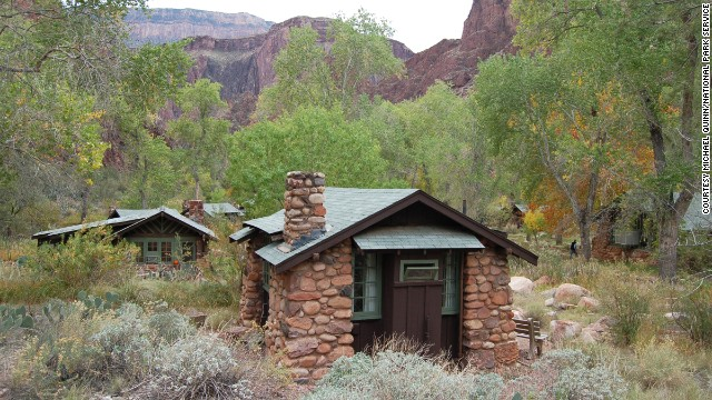 Reservations are required to stay at Phantom Ranch on the floor of the Grand Canyon.