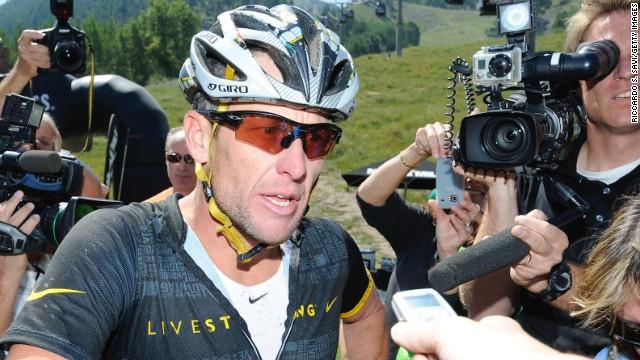 Lance Armstrong: «Yo no inventé el dopaje ni acabaré con él»