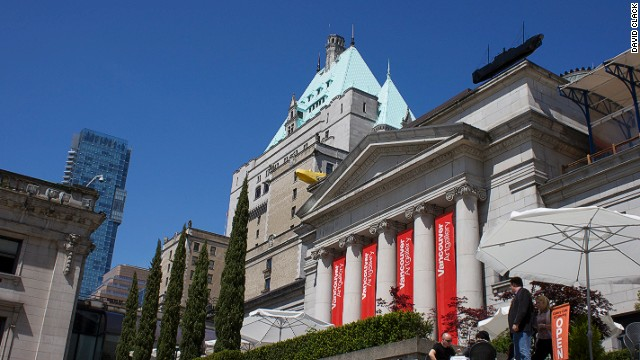 The Vancouver Art Gallery consists of more than 10,000 pieces of installations, and on Tuesday nights, the museum operates on a donation basis.