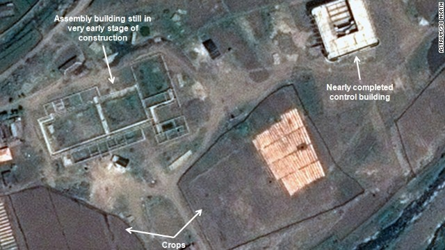 Did North Korea stop work on launch site?