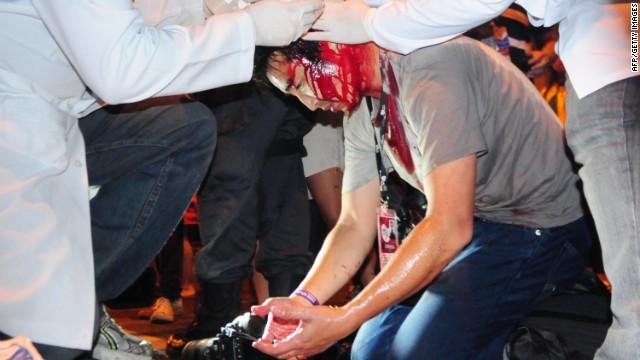 Una protesta contra el gasto por la visita del Papa termina en violencia