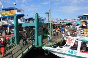 Mercado y puerto