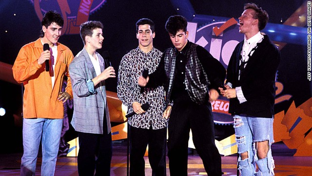 New Kids on the Block was one of the heartthrob boy bands of the late '80s and early '90s. Jordan Knight, Jonathan Knight, Joey McIntyre, Donnie Wahlberg and Danny Wood all hail from the Boston area. The group came off a lengthy hiatus in 2008 and has issued two albums since then.
