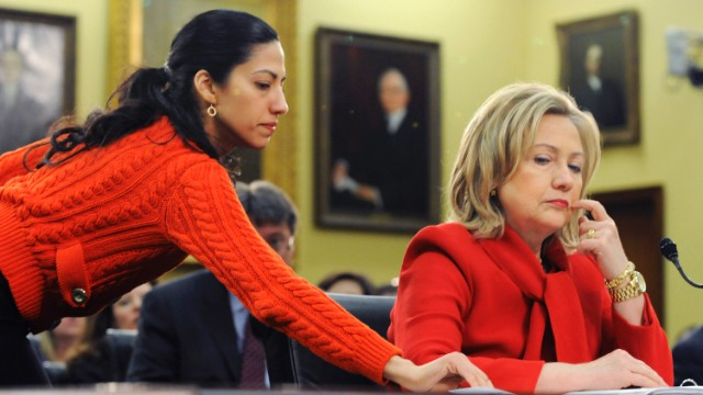 Hillary Clinton didn't know close friend and adviser Huma Abedin would speak out