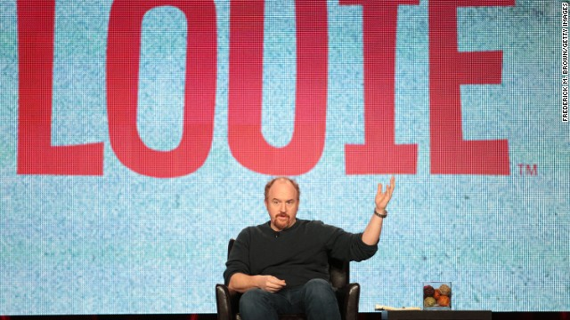 Louis C.K. attends a press panel for his FX show