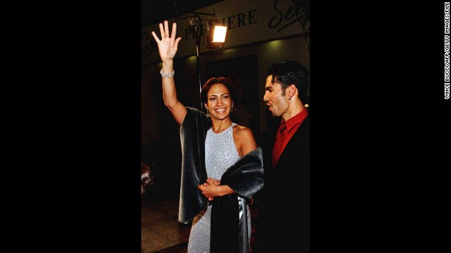 "Lopez's big break came in the title role of the biopic ""Selena,"" which catapulted her into the limelight. She brought then-husband Ojani Noa to the premiere of the film in Hollywood in 1995."