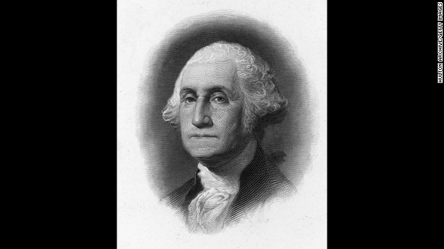 George Washington: First president of the United States of America (which seems a bit ironic considering all the kings with the same name).