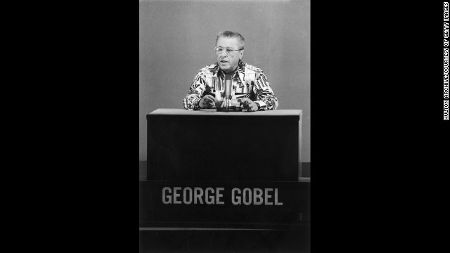 "George Gobel: An actor and comedian best known for ""The George Gobel Show,"" which ran on NBC from 1954 to 1960."