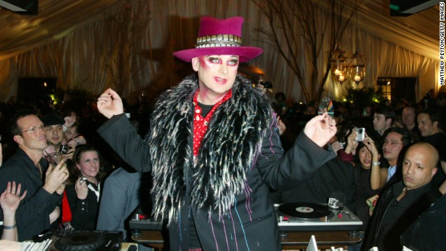 Boy George: His full name is George Alan O'Dowd, and it's doubtful that he will have to compete for his nickname with His Royal Highness, Prince George of Cambridge.