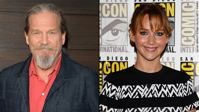 Jeff Bridges leaves Jennifer Lawrence starstruck