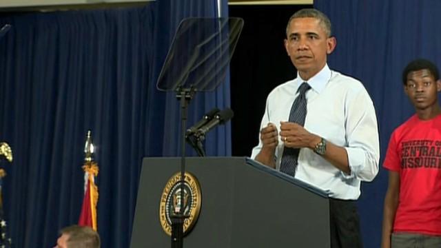 """Obama dice que EE.UU. se recuperó de la recesión, pero con una desigualdad """"inmoral"""""""