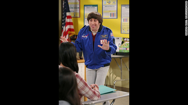 Simon Helberg plays Howard Wolowitz, an aerospace engineer who started out a bit awkward with women, but these days is happily married. At the start of season 8, he's having trouble adjusting to the new, prominent role his mother's caretaker, Stuart.