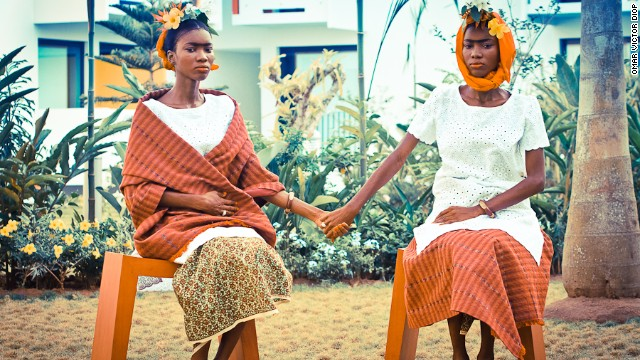 """I wanted to imagine what these movies would look like if they were conceived and shot in Africa,"" explains Diop, who also included ""Frida"" in the Onomolliwood series."