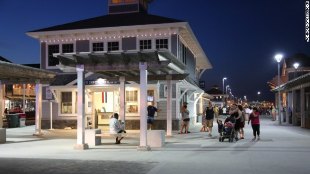Hampton Beach Boardwalk, in New Hampshire, is a low-key, relaxing spot that will make you wish you could stay a while longer.