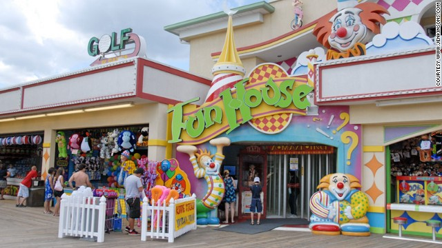 Jenkinson's is a retro classic amid the Jersey Shore's bigger amusement parks.