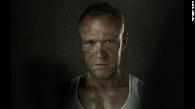 Merle Dixon (Michael Rooker) is killed by the Governor, reanimates as a zombie and is put down by his brother, Daryl, who stabs him multiple times.