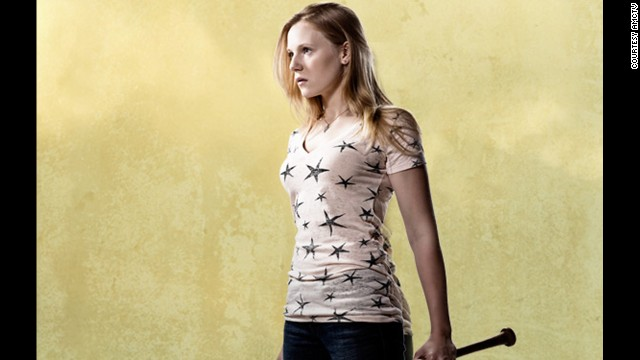 Amy (Emma Bell) was bitten by a zombie. Her sister, Andrea, had to put her down after she revived as a zombie.