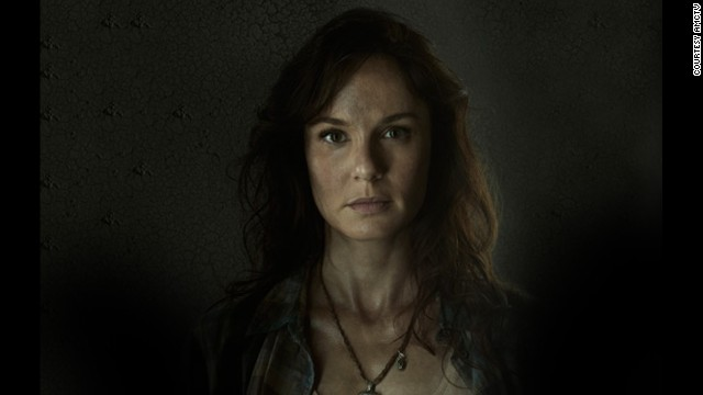 Lori Grimes (Sarah Wayne Callies) died during childbirth. Her son, Carl, apparently shot her (heard, but not seen on camera) to prevent her from becoming a zombie.