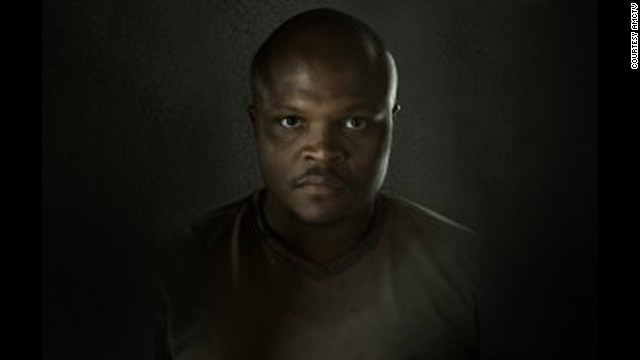 T-Dog (IronE Singleton) was bitten helping Carol escape zombies at the prison.