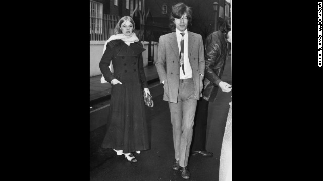 "But it seems the singer had a more simple reason for wearing his pants high and tight, as he did here in 1970 alongside his girlfriend at the time, Marianne Faithfull. ""I've always done a kind of skinny silhouette because I am skinny; I don't have to worry about covering up fat bits!"" he has previously told <a href='http://www.wwd.com/fashion-news/fashion-features/sartorial-satisfaction-6501480?page=1' target='_blank'>Women's Wear Daily</a>. ""So you've got to emphasize your silhouette."""