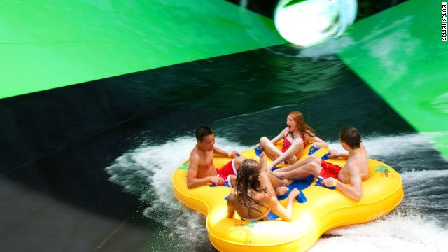 "Splish Splash's Alien Invasion ride includes an ""out-of-control spin resulting in disappearance,"" says the park website."